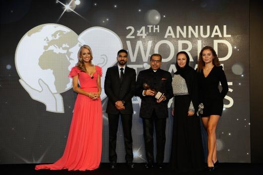 DADABHAI WINS PRESTIGIOUS WORLD TRAVEL AWARD